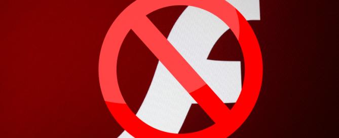 Bloqueo de Flash en Chrome, otro paso para su desaparición