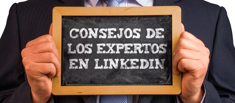 consejos Linkedin de los expertos