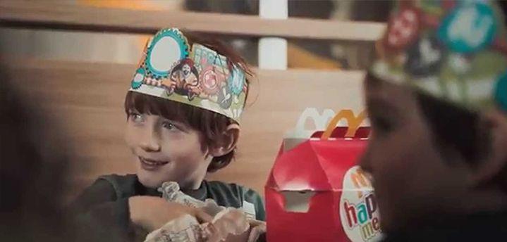 Ejemplo de branding de McDonalds