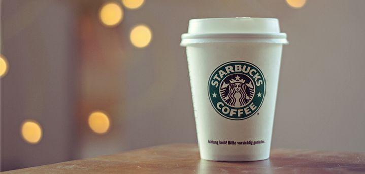Ejemplo de branding de Starbucks