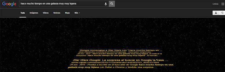 buscador google star wars