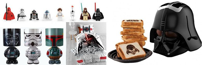 ejemplos merchandising star wars