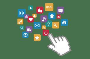 Términos generales de marketing Internet