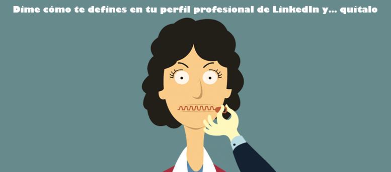 perfil profesional en Linkedin