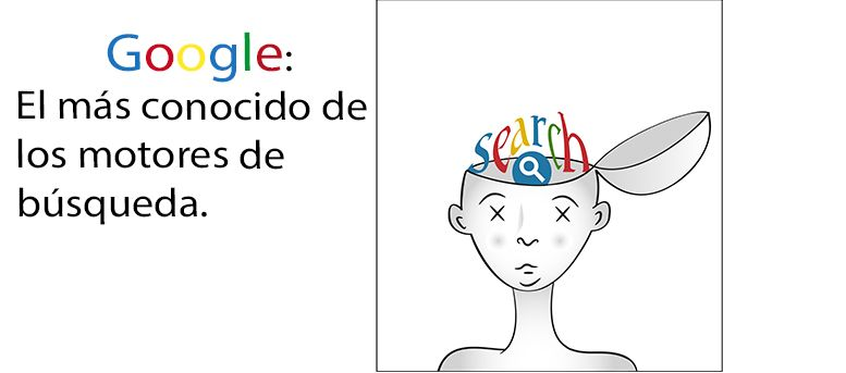 Google el más conocido de los motores de búsqueda