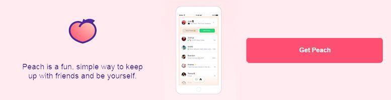 nuevas redes sociales peach