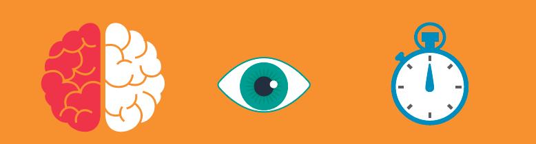 El cerebro es responsable de cerca del 50% del procesamiento visual que hacemos.