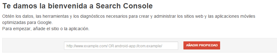 introduccion search console