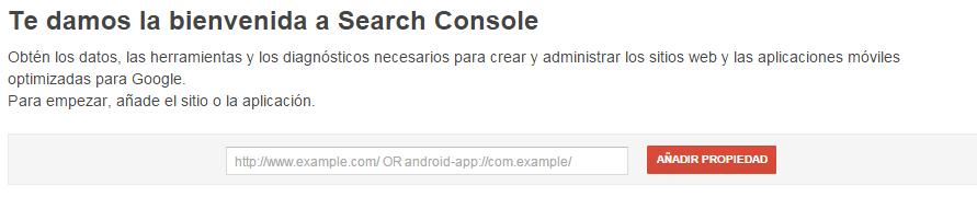 introduccion search console