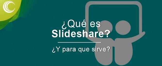 que es slideshare y sirve