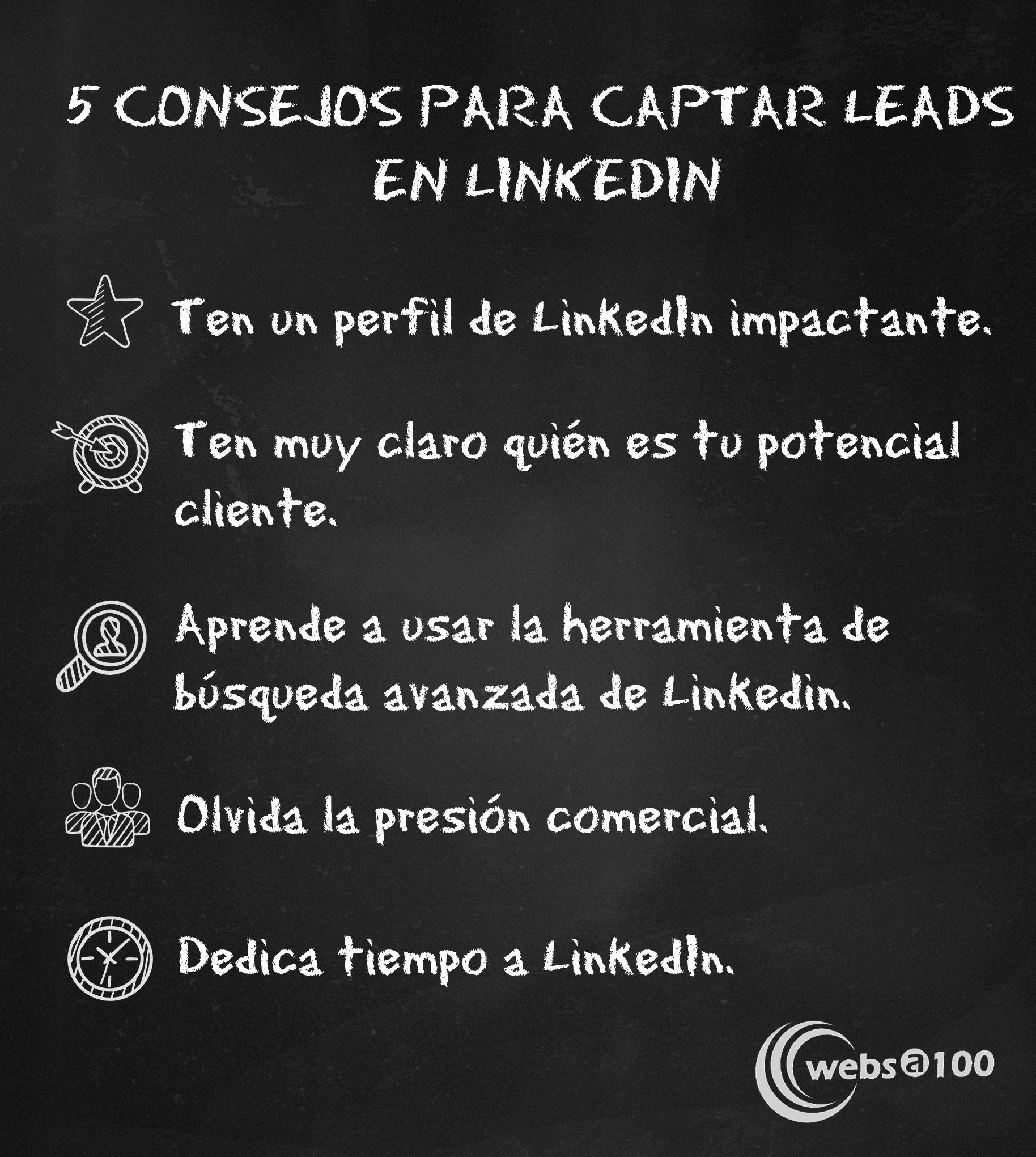 Consejos para captar leads en LinkedIn