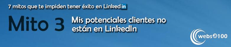 Mito 3 sobre LinkedIn
