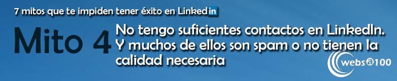 Mito 4 sobre LinkedIn