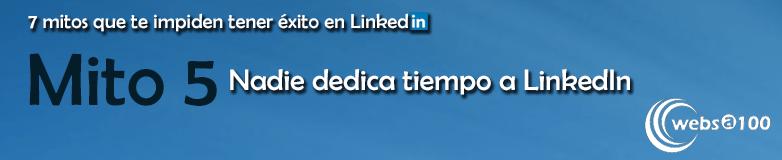 Nadie dedica tiempo a LinkedIn