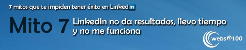 Linkedin no da resultados