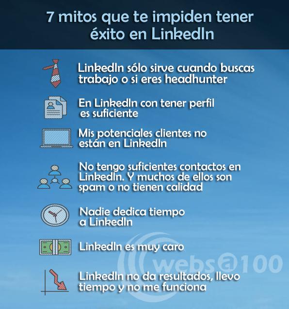 7 mijos que no te dejan triunfar en LinkedIn
