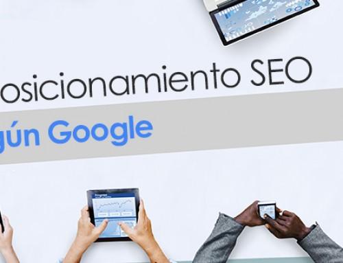 El posicionamiento SEO según Google