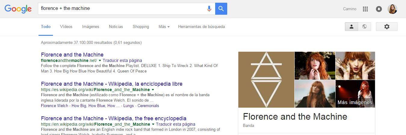 Cómo buscar en Google: nombres