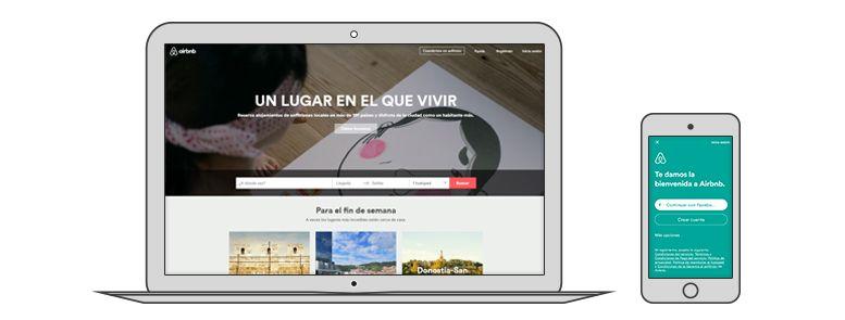 Airbnb diseño UX
