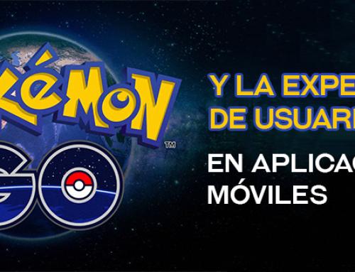 Pokemon Go y la experiencia de usuario en aplicaciones móviles