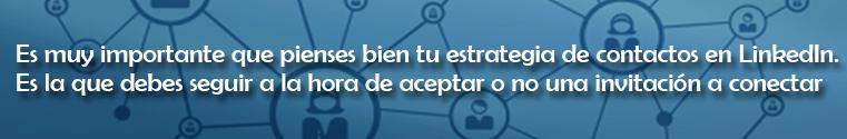 consejo para conseguir una buena red de contactos en LinkedIn