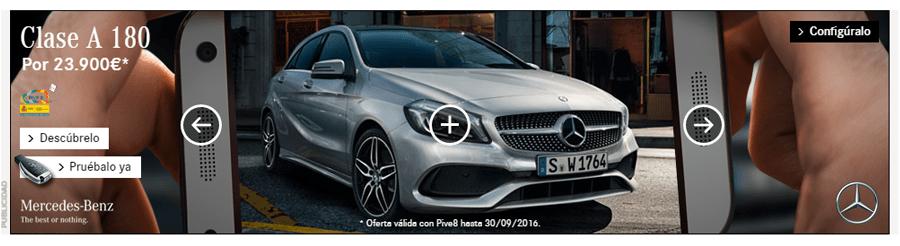 Ejemplo de la red de Display: Mercedes