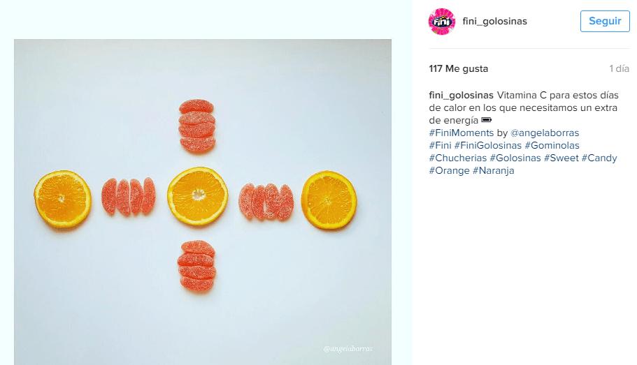 Estrategia en Redes Sociales: Instagram de Fini Golosinas