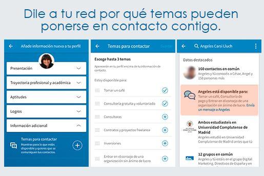 truco contacto linkedin App