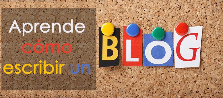 Aprende cómo escribir un blog con los siguientes trece consejos que te traigo