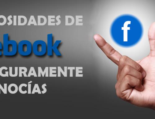 7 curiosidades de Facebook que seguramente no conocías