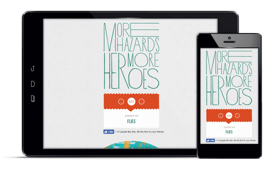 More Hazards - Diseño web responsive