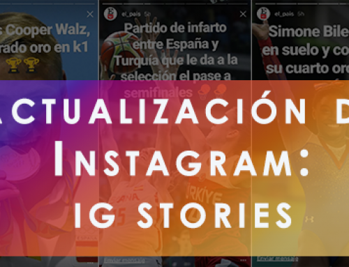 Actualización de Instagram: Descubre Instagram Stories