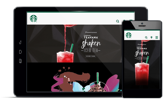 Starbucks - Diseño web responsive