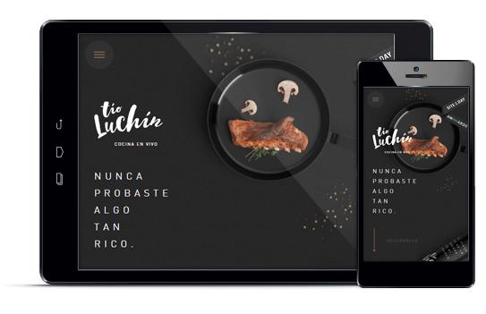 Tio Luchín - Diseño web responsive