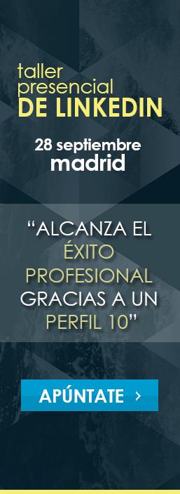 Taller perfil LinkedIn Madrid