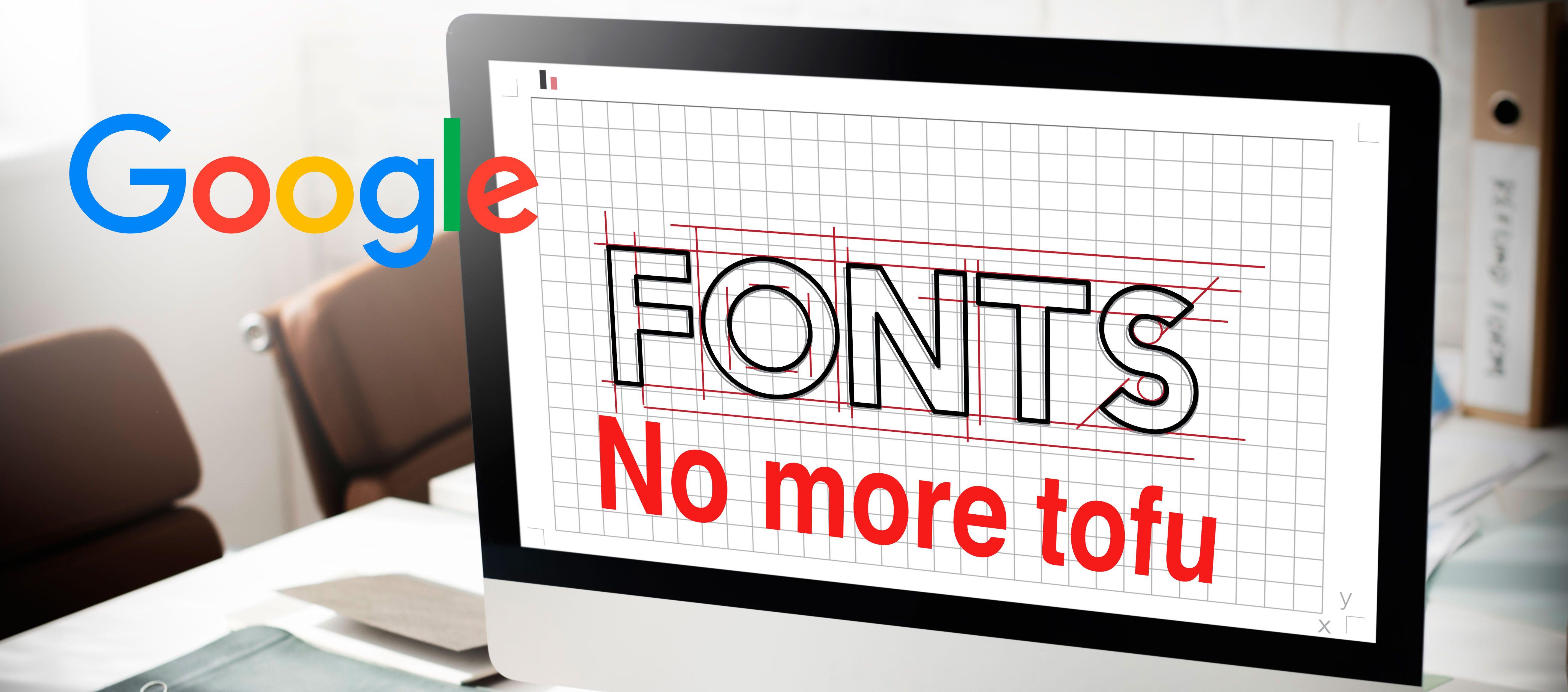 Google Web Fonts presenta Noto: una tipografía universal