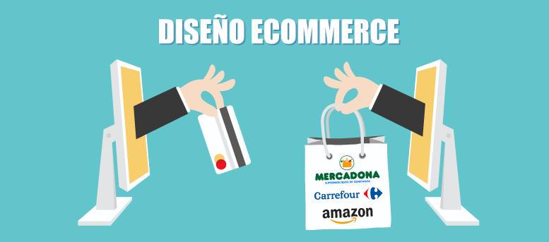 El diseño ecommerce: Desde Mercadona hasta Amazon