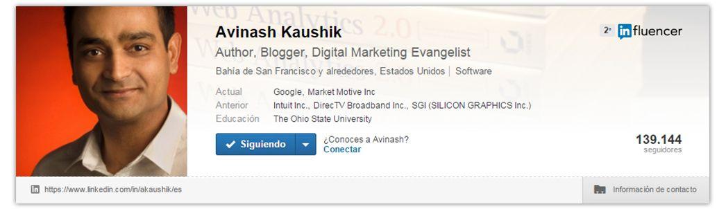 Expertos SEO: Avinash Kaushik