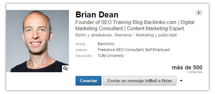 Expertos SEO: Brian Dean
