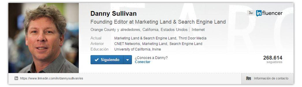 Expertos SEO: Danny Sullivan