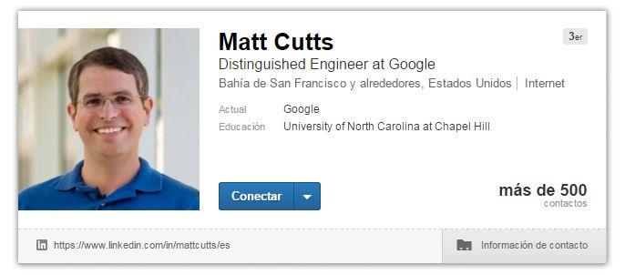 Expertos SEO: Matt Cutts