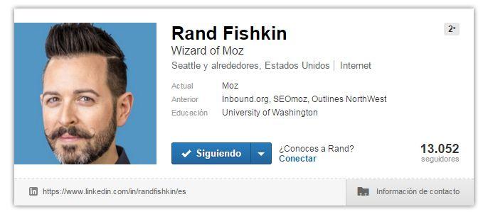 Expertos SEO: Rand Fishkin