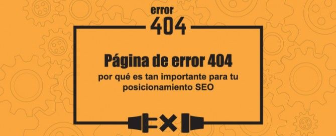 Página de error 404: SEO