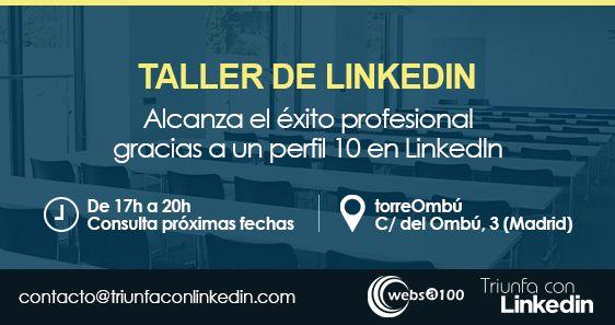 Taller presencial de LinkedIn en Madrid
