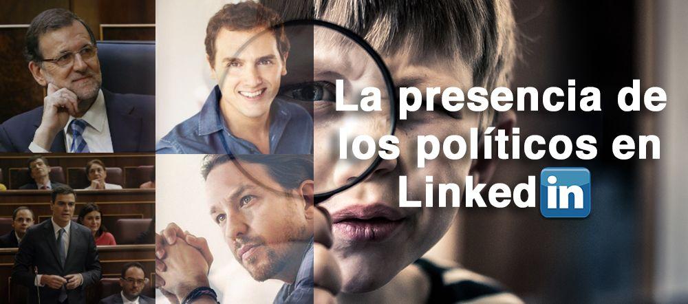 Imagen de políticos en LinkedIn