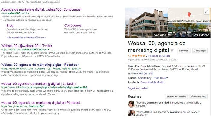 Google My Business ayuda a mejorar la identidad digital de tu negocio