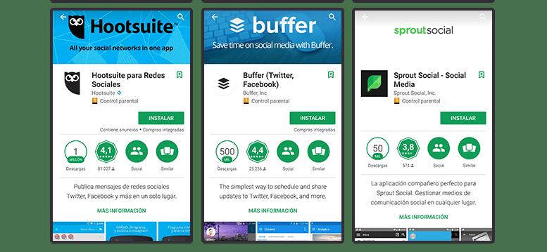 Apps para móviles: Social Media