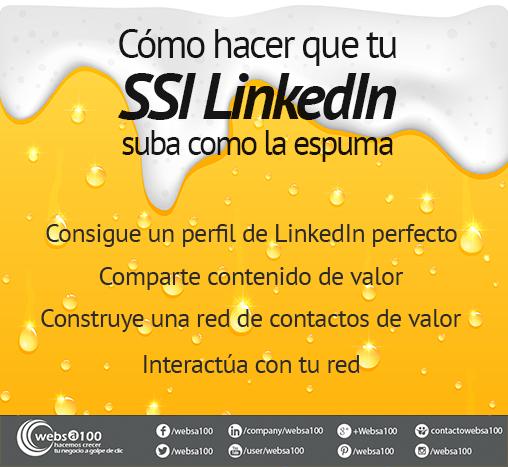 cómo mejorar tu LinkedIn SSI