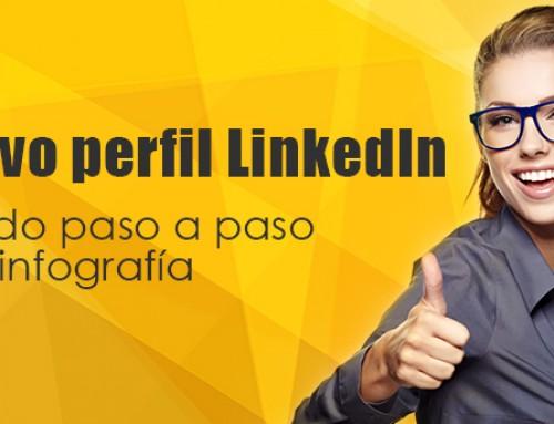 El nuevo perfil LinkedIn explicado paso a paso en una infografía