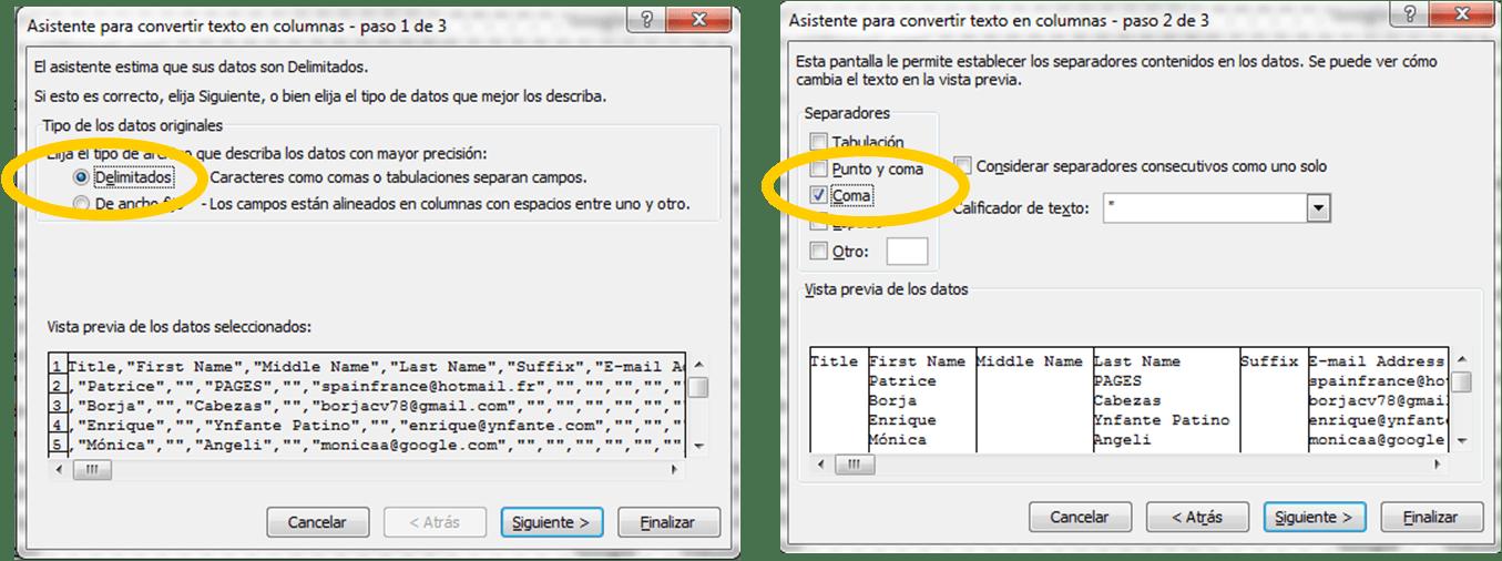 c u00f3mo descargar contactos de linkedin y c u00f3mo convertir el archivo csv a excel